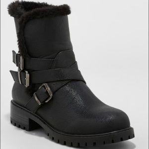 Women's Joan Buckle Seasonal Boots Wide - NWOT